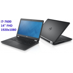 Ultrabook Dell Latitude 5480 i7-7600u 8GB 256SSD 14 FHD 1920x1080 WiFi BT KAM win10pro gw12mc