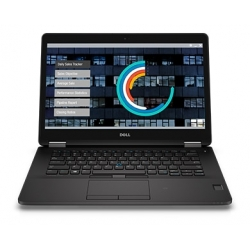 Dell Latitude E7470 i5-6300 8GB 512SSD 14 FHD 1920x1080 matt WiFi BT Kam win10pro GW12mc