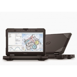 PANCERNY DELL LATITUDE 14 RUGGED 5404 i5-4310u 8GB RAM 256SSD 14 HD MATT DVDRW WiFi BT KAM 4G LTE WIN 10PRO GW12mc